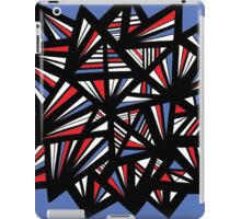 Balon Abstract Expression Red Blue iPad Case/Skin