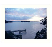 Sunkist Bay, New Zealand Art Print