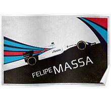 William F1, Felipe Massa  Poster