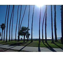 Morning in Santa  Barbara Photographic Print