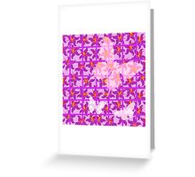 Butterfly Trellis ... Greeting Card
