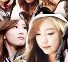 Taeyeon Collage Sticker