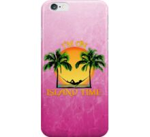 Island Time Pink iPhone Case/Skin