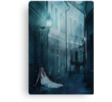 Whenever Your World Starts Crashing Down... Canvas Print