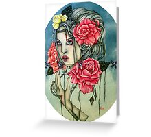 To Love The Rose Greeting Card