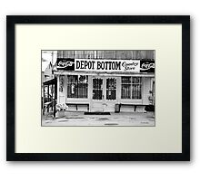 Depot Bottom Country Store ~ McMinnville Tennessee Framed Print