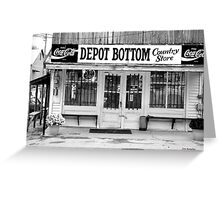 Depot Bottom Country Store ~ McMinnville Tennessee Greeting Card