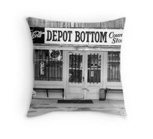 Depot Bottom Country Store ~ McMinnville Tennessee Throw Pillow
