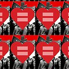 Equal Love Stonewall Heart by DomaDART
