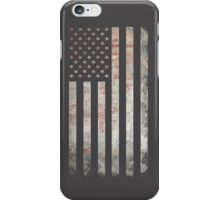 Vintage USA Flag iPhone Case/Skin