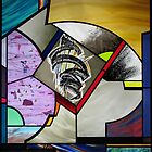 Glass Painting No. 5 by Jeffrey Hamilton