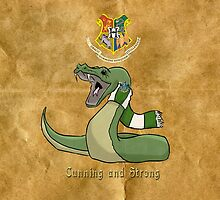 Slytherin: Cunning and Strong by WulfFather