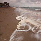 Storm at the Beach by Brendan Schoon