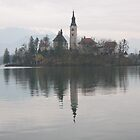 Bled island reflection by Coastalbloke