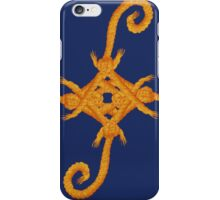 Gold Rope Knot Twirl iPhone Case/Skin