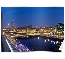 The Custom House and The Liffey At Dawn, Dublin  Poster
