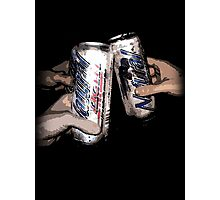 Natty Light: Party Time!  Photographic Print