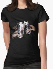 Natty Light: Party Time!  Womens Fitted T-Shirt