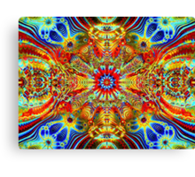 Cosmic Creatrip2 - Psychedelic trippy visuals Canvas Print