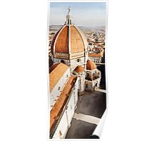 """Luce di Firenze"" the Duomo Watercolor Poster"