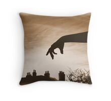 Even the sun rises at the command of the Emperor  Throw Pillow