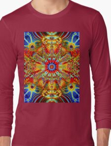 Cosmic Creatrip2 - Psychedelic trippy visuals Long Sleeve T-Shirt