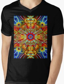 Cosmic Creatrip2 - Psychedelic trippy visuals Mens V-Neck T-Shirt