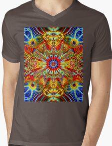 Cosmic Creatrip2 - Psychedelic trippy visuals Mens V-Neck T-Shirt