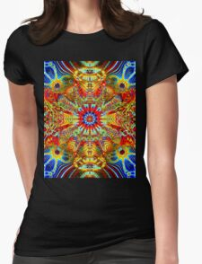 Cosmic Creatrip2 - Psychedelic trippy visuals Womens Fitted T-Shirt