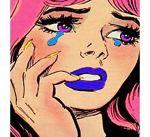 Big Girls Cry  Photographic Print