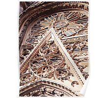 """""""Allure"""" Church Watercolor Poster"""