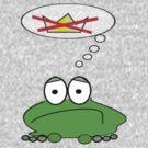 Gloomy Frog Prince by krddesigns