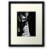Enchanted by the song of the guitar  Framed Print