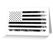 Vintage USA Flag Greeting Card