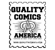 QualityComics.com Photographic Print