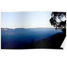Truly Blue Mountains Poster
