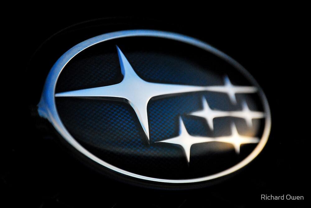 Subaru Badge by Richard Owen