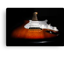 Six String Canvas Print