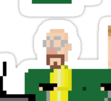 Breaking Bad - pixel art Sticker