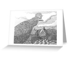 220 - HEN - DAVE EDWARDS - INK - 2009 Greeting Card