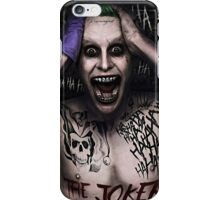 Suicide Squad - Joker iPhone Case/Skin