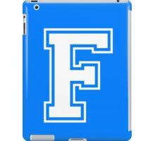 College Letterman F iPad Case/Skin
