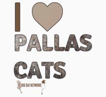 I Love Pallas Cats Kids Tee