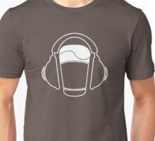 Music listening beer...  Unisex T-Shirt
