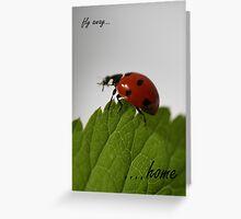 card: Fly Away Home - nancypics Greeting Card