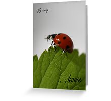 card: Fly Away Home - nancypics Greeting Card