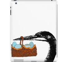 heron delivery iPad Case/Skin