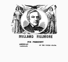 Millard Fillmore for President! Men's Baseball ¾ T-Shirt