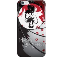 Mario the Spy iPhone Case/Skin