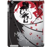 Mario the Spy iPad Case/Skin